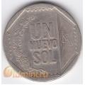 1 новый соль. 2007 г. Перу. 18-4-36