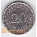 20 центов. 1990 г. Маврикий. Сивусагур Рамгулам. 18-4-48