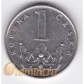1 крона. 1995 г. Чехия. 18-5-113