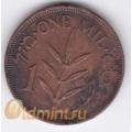 1 мил. 1939 г. Палестина. 8-1-92