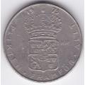 1 крона. 1973 г. Швеция. 4-1-163