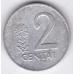 2 цента. 1991 г. Литва. 4-1-171