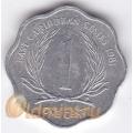 1 цент. 1981 г. Карибские острова. 11-2-3